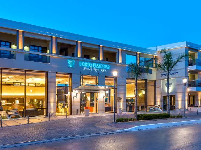 Porto Platanias Spa Hotel Platanias Chania Crete
