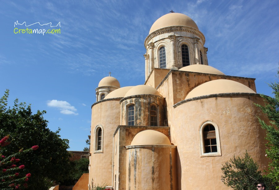 The monastery of Agia Triada of Tzagarolon  Crete ...