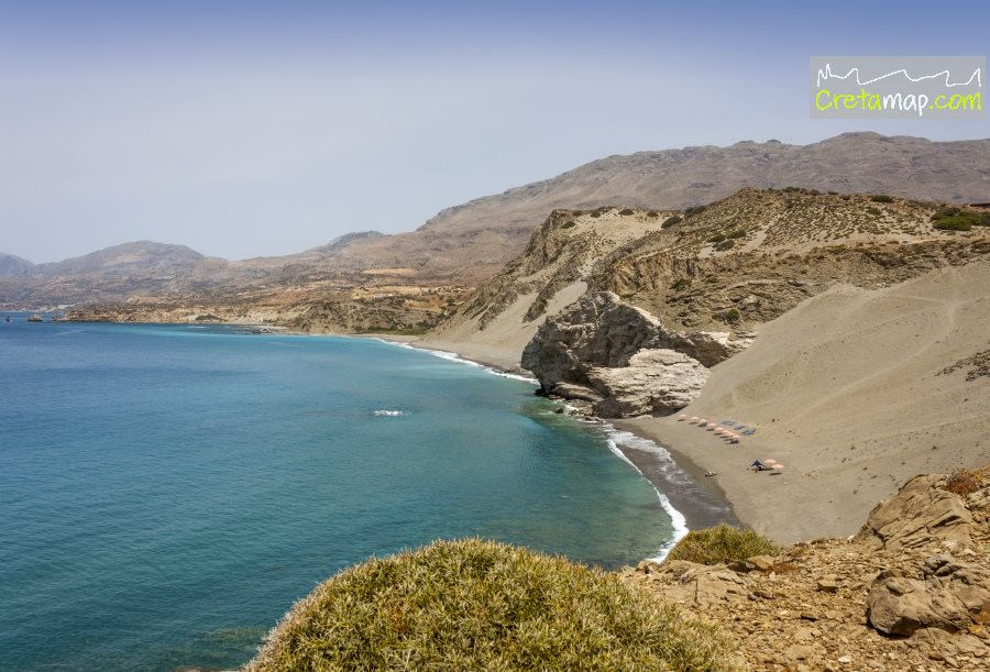 Agios Pavlos Sandhills Beach South Rethymnon Crete