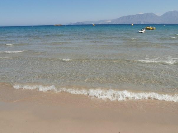 Almyros Beach Agios Nikolaos East Crete Crete Cretamap Com