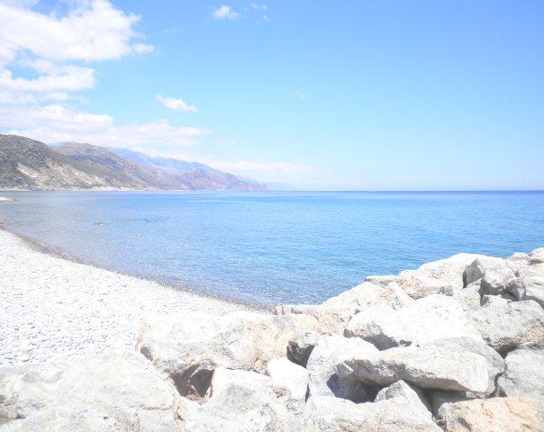 Chalikia Beach Paleochora Crete Cretamap Com