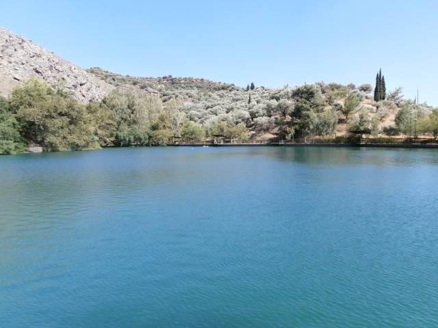 Zaros Lake Heraklion Crete Cretamap Com