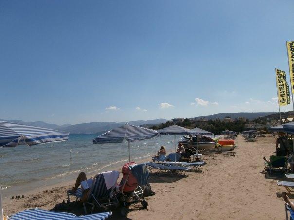 Almyros beach Agios Nikolaos east Crete  Crete - Cretamap.com