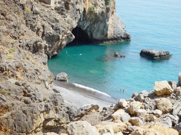 Voidomatis Beach South Heraklion Crete Cretamap Com