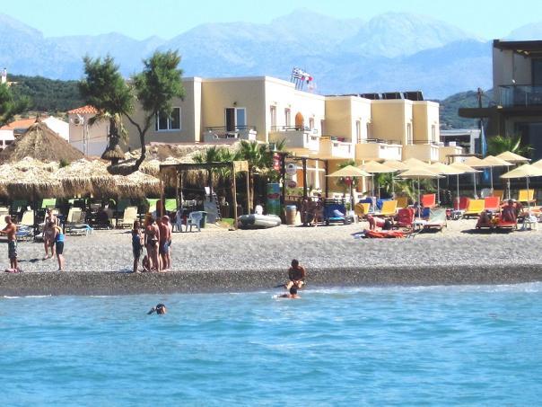 Panos Beach Hotel Platanias Crete
